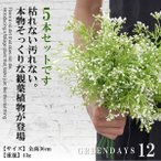 花束グリーン 5個セットフェイクグリーン 人工観葉植物 造花藤 緑 葉 壁掛け 吊りのインテリア飾り 人工植物 枯れない グリーン  5-TURIGURI12