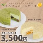 ほんのり大人リッチな気分★とろけるムースケーキ(2種類セット)