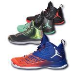 NIKE バスケットボール シューズ ジョーダン スーパーフライ 5 メンズ ブラック ブラック ダークグレー ウルフグレー インフラレッド23 844677-003