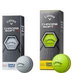 【X】キャロウェイ ゴルフボール クロム ソフト X トリプルトラック CHROME SOFT X TRIPLE TRACK 1スリーブ(ボール3個入り)