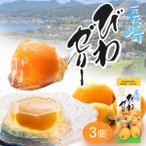 長崎 びわ ゼリー 3個入り (茂木 ビワゼリー お菓子 高級 フルーツ 果物 果実 国産 枇杷) TO93