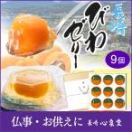 長崎 びわ ゼリー 9個入り (茂木 ビワゼリー お菓子 フルーツ セット 果物 果実 高級 国産 枇杷) TO95