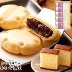 お菓子 詰め合わせ ギフト 最中 長崎カステラ 月 (メッセージカード付き スイーツ 手土産)  TO18