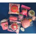 Yahoo!スクイーズのカチカチショップスクイーズ☆楽しいお得なセット(ピンク)