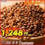 雑穀 赤米 1kg (500g×2袋) 古代米 国産 人気サイズ 送料無料