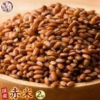 雑穀 赤米 2kg (500g×4袋) 古代米 国産 徳用サイズ 送料無料