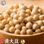 米 雑穀 雑穀米 国産 黄大豆 3kg(500g x6袋) 送料無料 厳選 北海道産 送料無料 雑穀米本舗