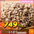 TVで話題 特価絶品 もち麦 1kg (500g x 2袋) 人気サイズ 高品質 厳選国産 ダイシモチ麦 大麦 水溶性食物繊維 β-グルカン ラクやせ ダイエット 送料無料