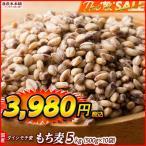 米 雑穀 麦 国産 もち麦(中粒) 5kg(500g x10袋) 送料無料 高品質 厳選 ダイシモチ 腸内環境 脂肪激減 ダイエット セール品