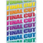 ショッピングFINAL 【FINAL CUT】カットクリアファイル