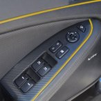 ボルボ バルブキャップ Yellow 5M Flexible Trim For Car Interior Exterior Moulding Strip Decorative P3 for Volvo S70