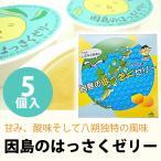 因島のはっさくゼリー 5個入り 【フルーツゼリー/八朔ゼリー】【ゼリーギフト】