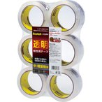 スリーエムジャパン スコッチ(R)透明梱包用テープ 中・軽量物用 6巻