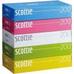 日本製紙クレシア スコッティティシュー 200W 5箱