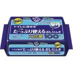 ショッピング商品 日本製紙クレシア アクティ 流せるたっぷり使えるおしりふき100枚