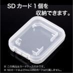 SDカードクリアケース (SD 1枚)