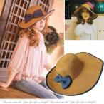 麦わら帽子 リボン付き帽子 リボン付きハット カンカン帽 つば広 つば広ハット つば広帽 女優帽 折り畳み 折りたたみ帽 折り畳み帽 日よけ 日よけ帽