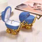 ジュエリーケース ギフトボックス リングケース プレゼントボックス ピアスケース ネックレス 指輪 ベビーカー型 贈り物 誕生日 クリスマス バレンタ