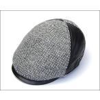 日本製Borsalino ボルサリーノ ウールxレザーハンチング BS376  大きいサイズの帽子アリ  小さいサイズあり
