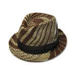 アウトレットセール Retter レッター 変わり編みパナマ中折れ帽 Genuine Panama 22  大きいサイズの帽子アリ