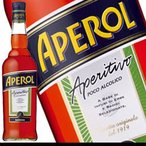ヨーロッパで若者に大人気 イタリアン・ハーブリキュール アペロール 700ml 11度 正規代理店輸入品 リキュール