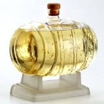 銀座のすずめ琥珀 麦焼酎 樽型ボトル  MS10  900ml 25度