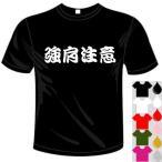 ベースボールドライTシャツ(カラー5色) 漢字おもしろTシャツ 強肩注意Tシャツ 送料無料 河内國製作所