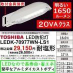 東芝 LED防犯灯 E-CORE 20VA FHT42Wクラス 1650lm 耐塩形 昼白色相当 LEDK70977WNLS1