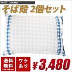 カバー付き 2個セット レビューで割引  国産 日本製 特価  送料無料 枕 まくらそば殻 そばがら ソバガラ
