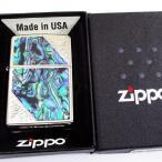 ジッポー ウエスタンシリーズ 貝貼り 2SW-SHELL #200ベース