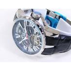 カワネット*J.HARRISON ジョン・ハリソン ビッグテンプ付 自動巻 腕時計 JH-033BK