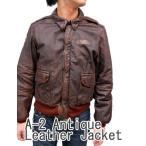AVIREX アヴィレックス アビレックス ジャケット 革ジャン レザージャケット メンズ A-2 アンティーク加工 6101024