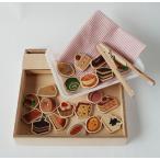 ままごとセット ケーキ屋さん 手作り 木製おもちゃ ごっこ遊び