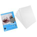 ショッピングシール シール用紙 A4サイズ インクジェットプリンタ専用(光沢タイプ) 5枚入