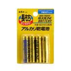 アルカリ乾電池 単4 4P/07-114