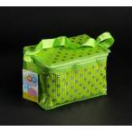 保温・保冷バッグ 水玉柄 ボックスタイプ 21×14×高さ14cm [色指定不可]