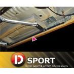 【 コペン L880K / JB-DET 用 】 Dスポーツ サイドシル補強バー [左右セット] 品番: 57400-B080 (D-SPORT)