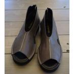 ショッピングブーツサンダル TRANQUILLO ブーツ サンダル グレー 24cm