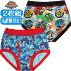 男児  動物戦隊ジュウオウジャー  キャラクター 2枚組 ブリーフパンツ  サイズ100/110/120cm  35819 夏のクリアランスセール