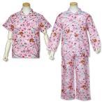 女児 「シュガーバニーズ」 半袖 長袖 2トップ 前開き パジャマ 上下組 サイズ110/120/130cm 74C613SM