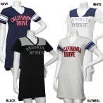 女児 「JUNK SOUL」 ロープ刺繍 Vネック 半袖 Tシャツ ワンピース サイズ140/150/160cm 8208003