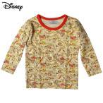 ベビー男児「ディズニー くまのプーさん」丸首 綿100% 長袖シャツ 接結ニット(肌着) サイズ90/95cm C5C50-40