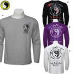 メンズ  TOWN&COUNTRY  和柄 サーフプリント 長袖Tシャツ サイズM/L/LL  DM1347