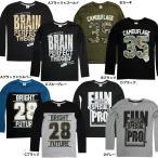 68028男児「perfect dash」ハード・ミリタリー系プリント長袖Tシャツサイズ140/150/160cm