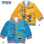 ベビー男児 裏起毛ニット ジャケット 「PEZペッツ」 ポッププリント サイズ90/95cm Z3701