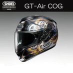 ショッピングAIR SHOEI GTエアー GT-Air コグ COG フルフェイスヘルメット TC-9 BLACK/GOLD
