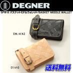 ショッピングmiddle DEGNER SFW-8 バスケットミドルウォレット/BASKET MIDDLE WALLET デグナー