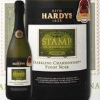 スパークリングワイン ハーディーズ・スタンプ・スパークリング・シャルドネ・ピノ・ノワール wine sparkling