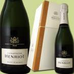 スパークリングワイン アンリオ・ブリュット・ブラン・ド・ブラン(クーラーボックスつき) シャンパン 750ml 正規 箱入り Henriot wine
