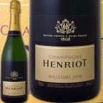 シャンパン・スパークリングワイン シャンパーニュ・アンリオ・ブリュット・ミレジメ 2006